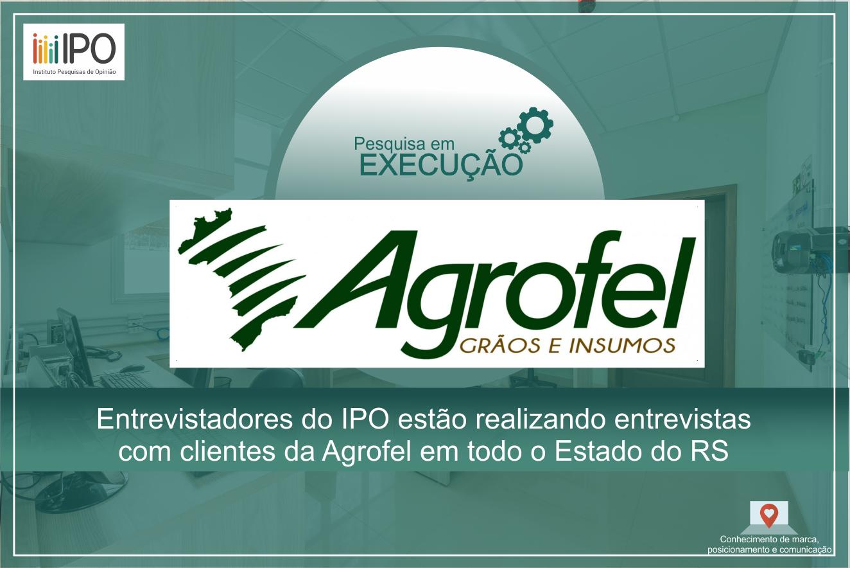 c08f23ba7 Pesquisa de satisfação com clientes da Agrofel